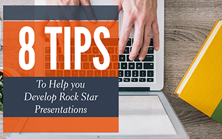 [Slideshow] 8 Tips to Rockstar Presentations