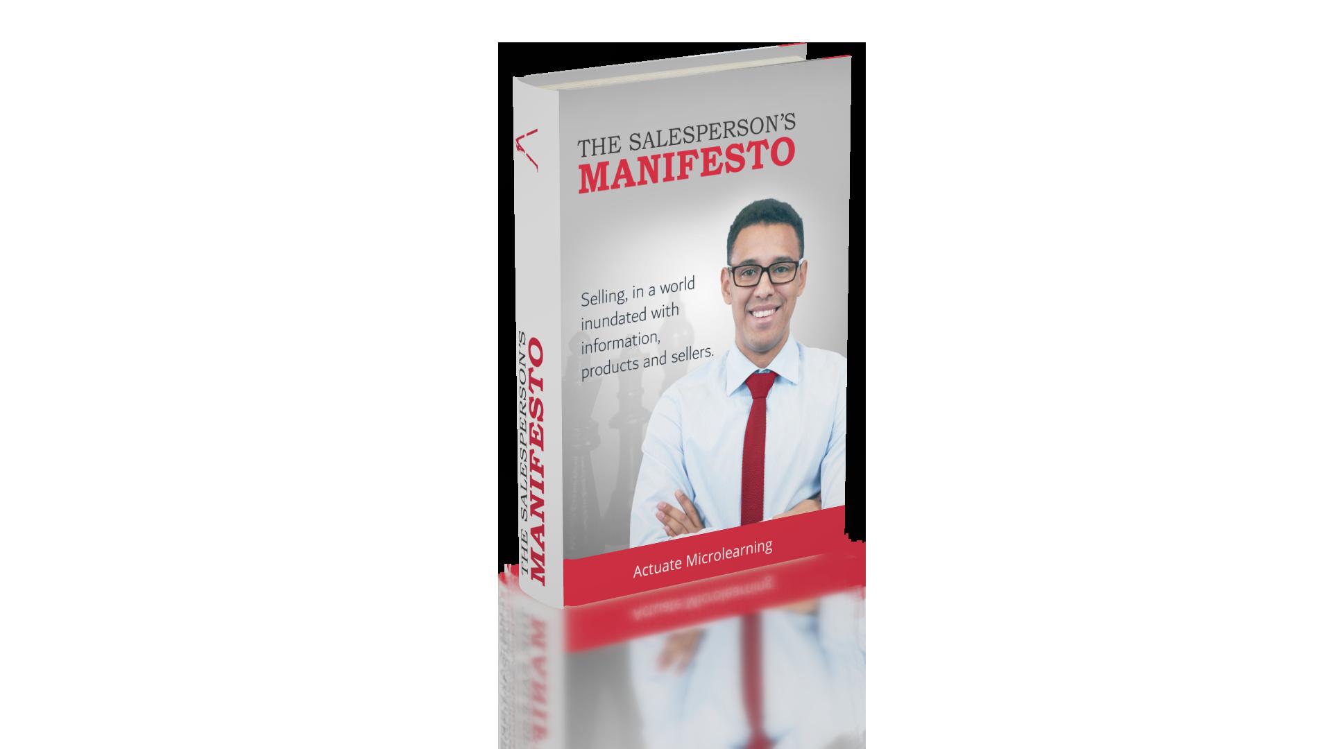 [E-Book] The Salesperson's Manifesto