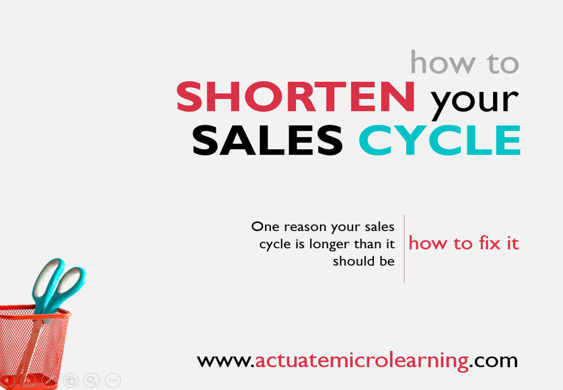 How to Shorten Your Sales Cycle