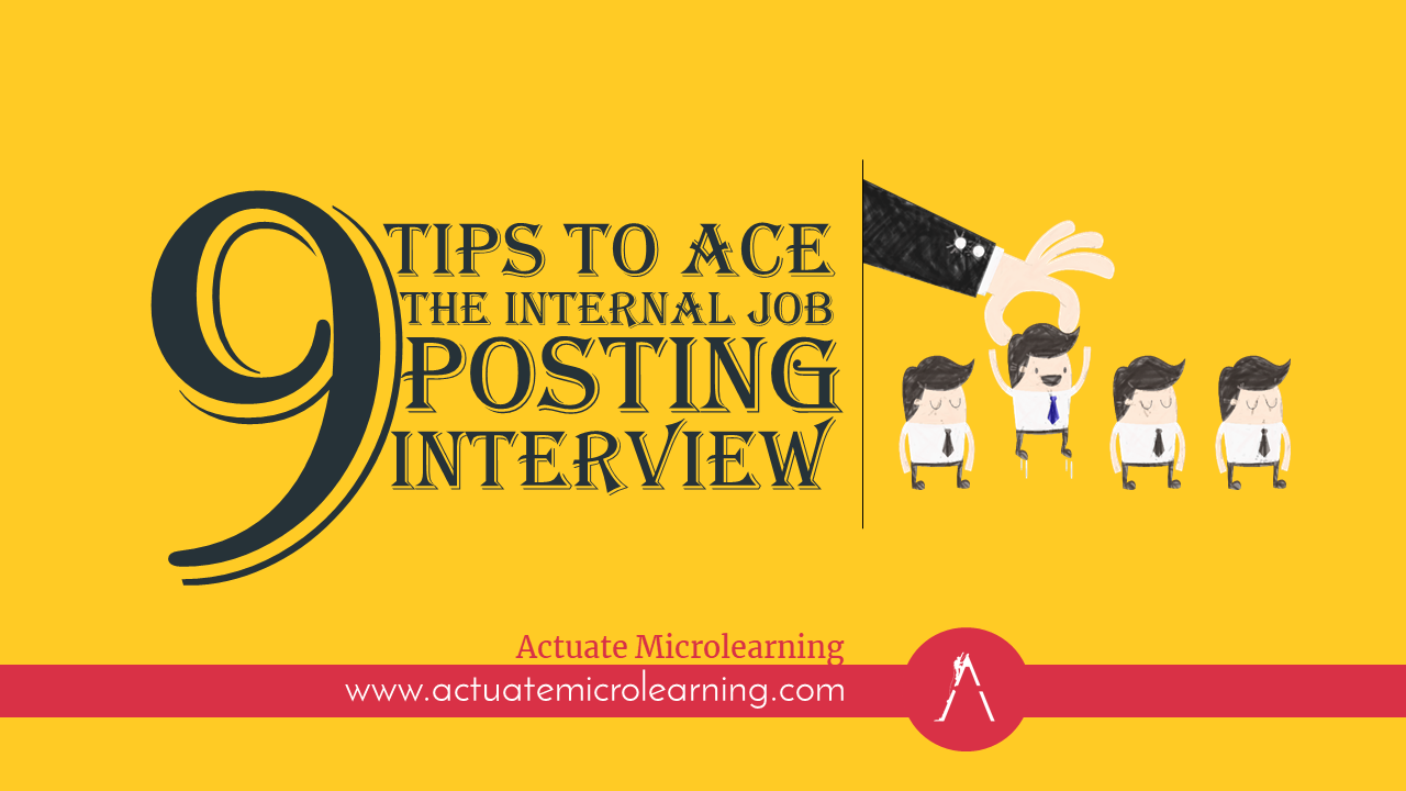 Nine Tips to Ace the Internal Job Posting Interview